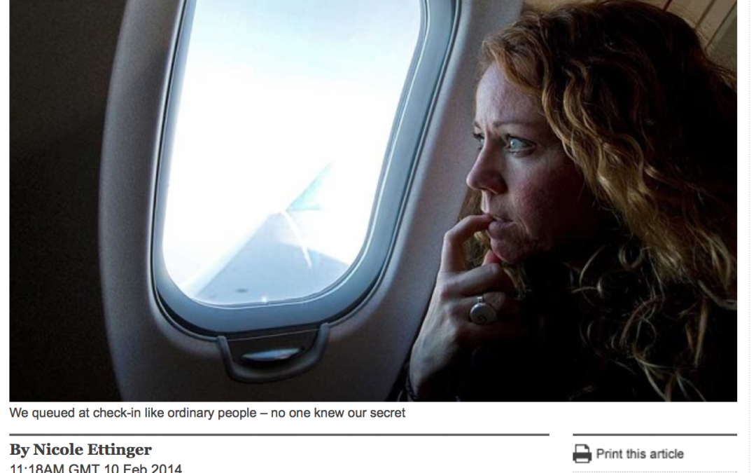 Daily Telegraph – How To Conquer A Fear of Flying